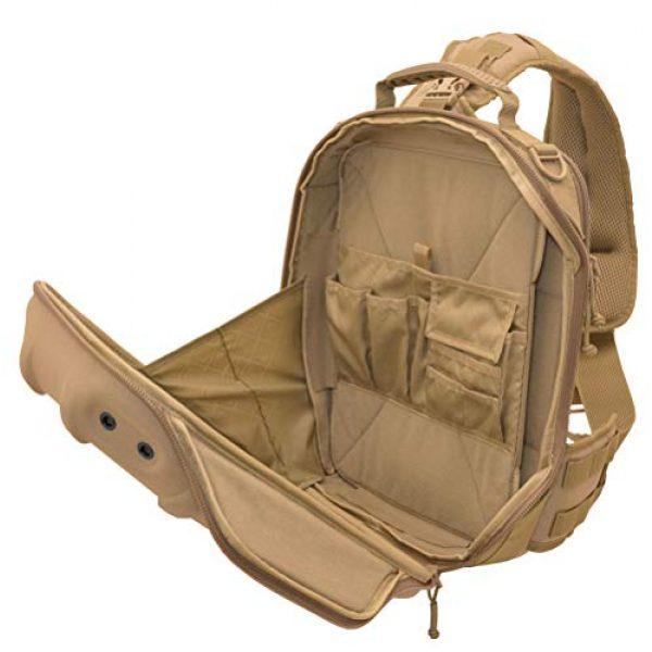HAZARD 4 Tactical Backpack 4 Hazard 4 Hibachi: Light Shell Sling-Pack - Black
