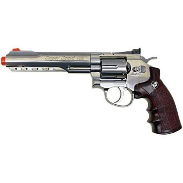 WG Airsoft Pistol 2 WG co2 powered air soft gun full metal revolver airsoft pistol gun 380 fps new(Airsoft Gun)