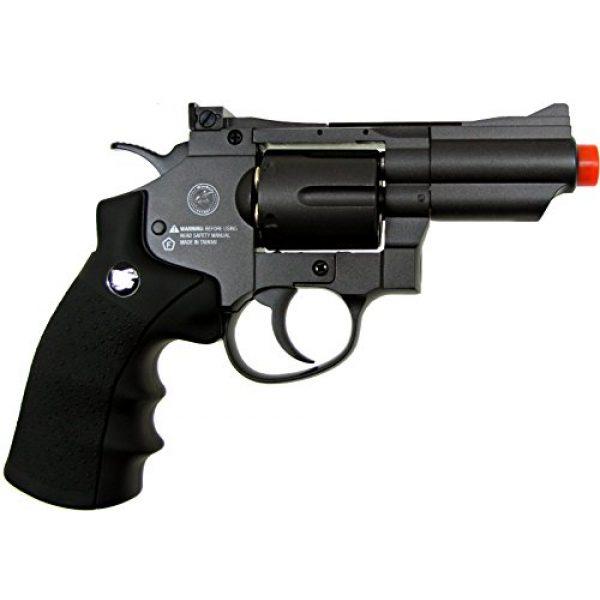 TSD Tactical Airsoft Pistol 7 TSD tactical - sdcnr708bb - tsd/wg model 708 co2 gas black revolver(Airsoft Gun)