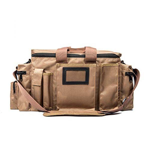 FiveStar Products, LLC Tactical Backpack 1 FIVESTAR Range Bag Tactical Style Duffel Heavy Duty Zippers 600D Ballistic