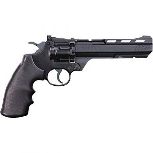Crosman Air Pistol 1 Crosman CR357 Revolver .177 Caliber CO2 Air Pistol, 465fps