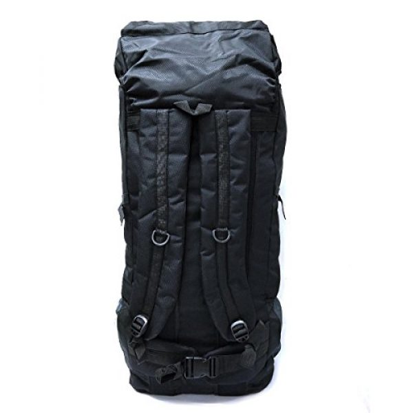 Leeloo Tactical Backpack 6 LeeLoo Extra Large 90 Liter Duffel Bag Travel Backpack for Travelling, Backpacking, Camping, Hiking.
