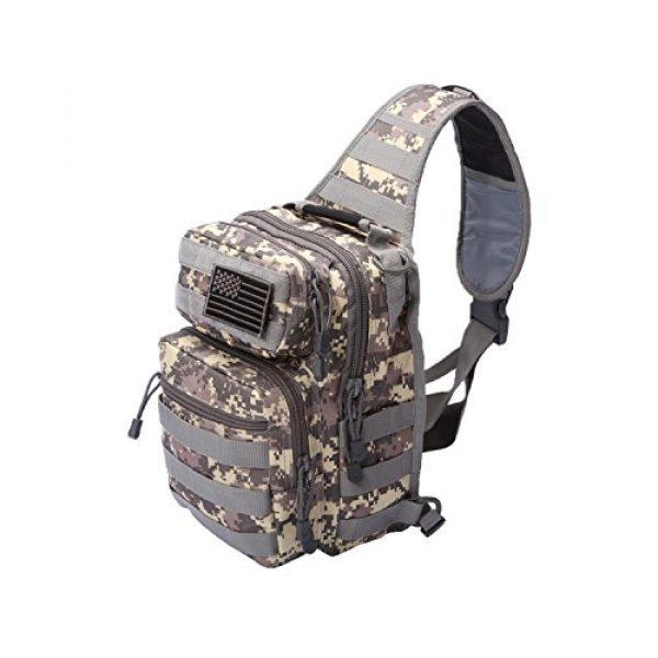 Neasyth Tactical Backpack 1 Neasyth Tactical Sling Bag Backpack Shoulder Chest Bag Outdoor Travel Hiking for Men
