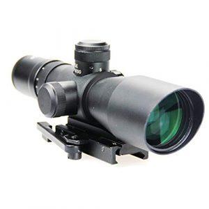 DJym Rifle Scope 1 DJym 3-9X42E Scope, P4 Optical Sight Rifle Scope Waterproof, Shockproof and Anti-Fog