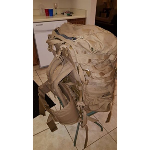 Eagle Tactical Backpack 7 Eagle FILBE USMC Main Pack Coyote Brown with Frame and Waist Belt