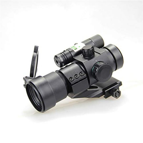 DJym Rifle Scope 1 DJym Blue Film Inside Red Dot Sight, High-Definition Red Dot Fast Sight Waterproofing Anti-Fog Seismic Gift-Level Sight