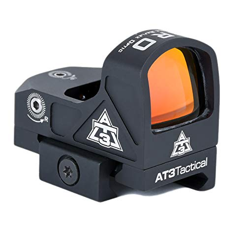 AT3 Tactical Rifle Scope 1 AT3 Tactical ARO Micro Red Dot Sight - Direct Mount, Low Mount, Optional Riser Mount - 3 MOA Compact Reflex Sight