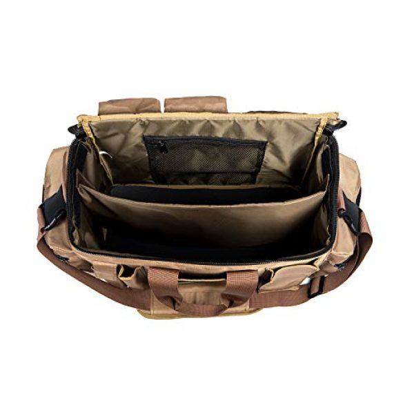FiveStar Products, LLC Tactical Backpack 7 FIVESTAR Range Bag Tactical Style Duffel Heavy Duty Zippers 600D Ballistic