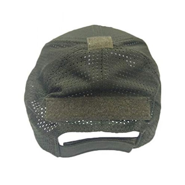 DOngRWF Tactical Hat 2 DOngRWF Outdoor Sport Hat Adjustable Strap Flex Air Mesh Tactical Cap Include 3 Pieces Tactical Military Patches