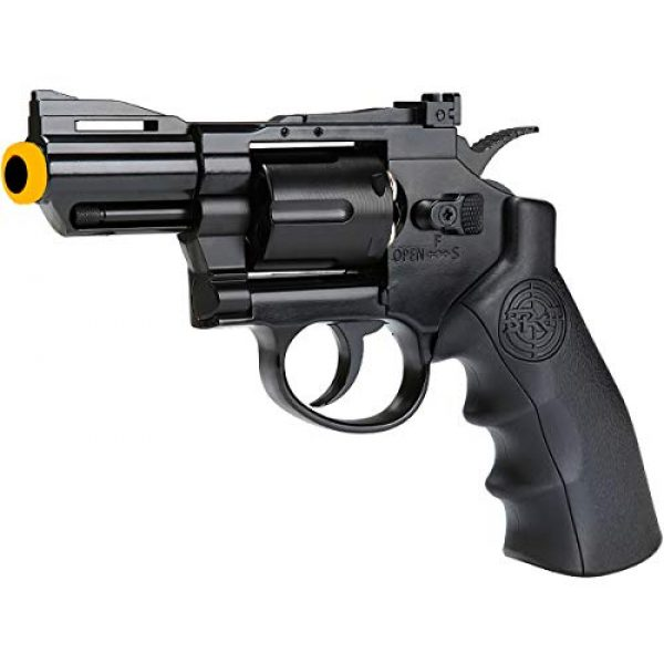 SRC Airsoft Pistol 1 SRC 2.5 INCH Barrel Titan CO2 Gas Airsoft GBB Cowboy Metal Revolver (Black)