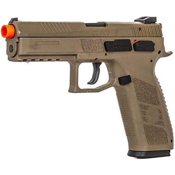 ASG Airsoft Pistol 1 ASG CZ P-09 GBB Airsoft Pistol (Flat Dark Earth)