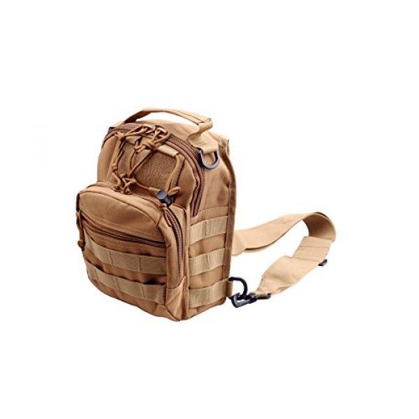 CISNO Tactical Backpack 1 CISNO Outdoor Rucksack Tactical Molle Messenger Assault Sling Shoulder Bag Backpack Pack