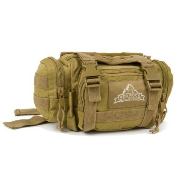 Red Rock Outdoor Gear Tactical Backpack 1 Red Rock Outdoor Gear Deployment Waist Bag, Coyote