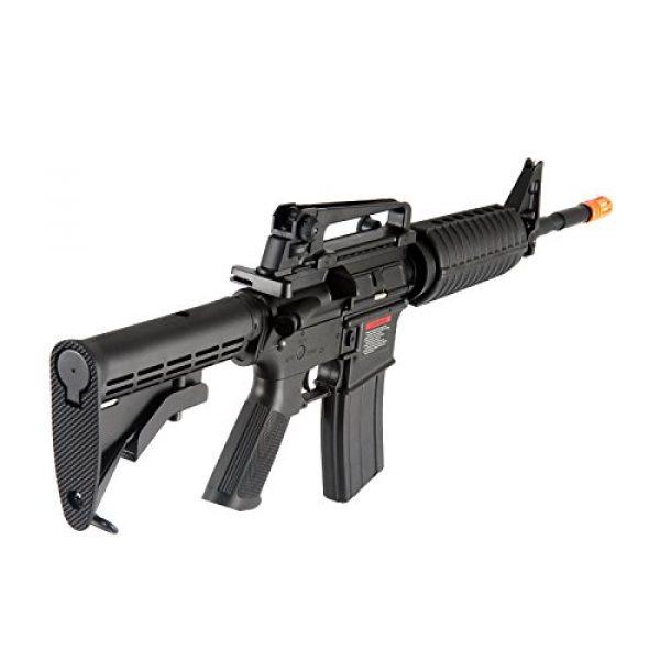 MetalTac Airsoft Rifle 4 MetalTac F6604 Carbine Electric AEG Full Metal Gearbox, Black