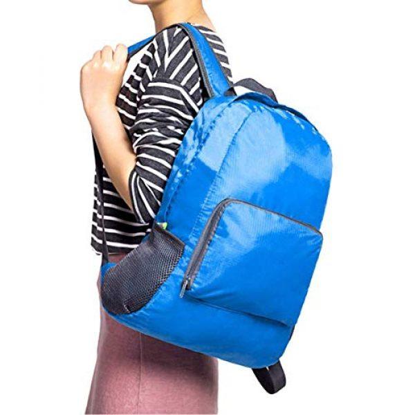 Bidiri Tactical Backpack 6 Bidiri Ultra Light Folding Backpack Waterproof Foldable Daypack Portable Travelling Pack Casual Handy Backpack for Hiking Camping Sports School for Men Women