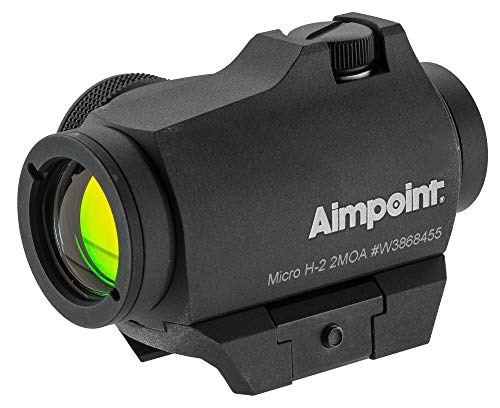 Aimpoint Rifle Scope 5 Aimpoint 200183 Standard Micro H-2, 4 MOA, Complete