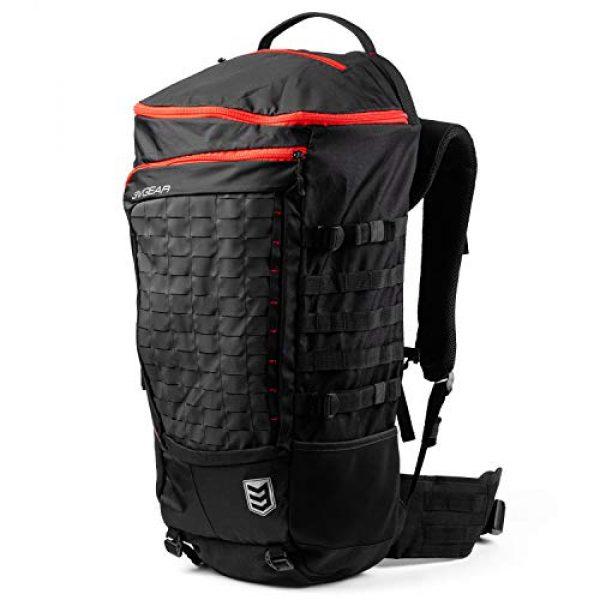 3V Gear Tactical Backpack 3 3V Gear Sovereign Redline Internal Frame Backpack - 50 Liter