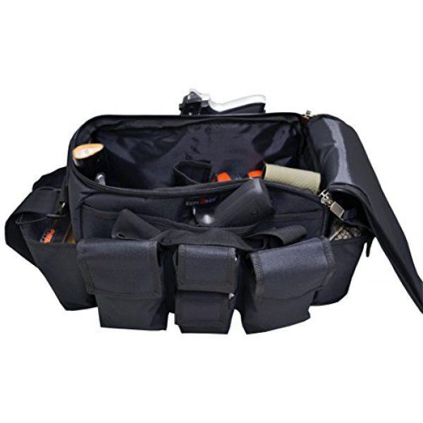 Explorer Tactical Backpack 1 Explorer Tactical Range Bag Bail Out Bag Police Gear Bag Patrol Bag Hunting Shooting Bag, Black