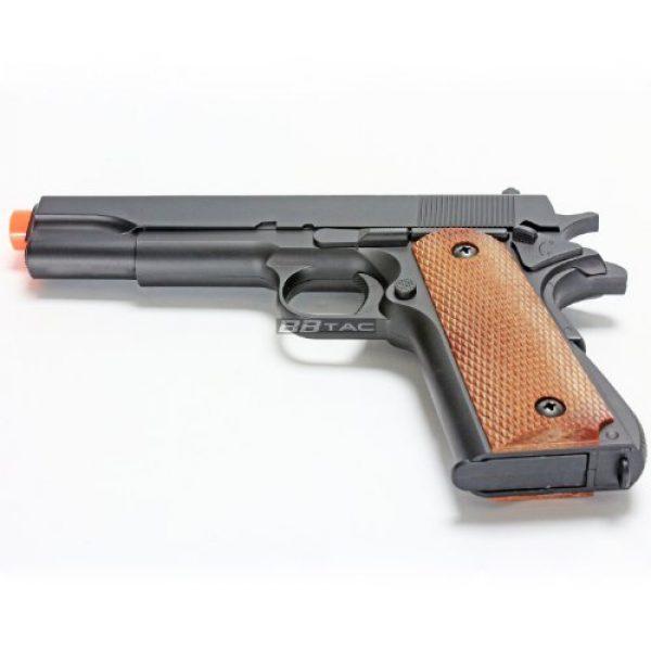 BBTac Airsoft Pistol 5 bbtac m21 airsoft 260 fps metal spring pistol with working hammer and saftey grip(Airsoft Gun)
