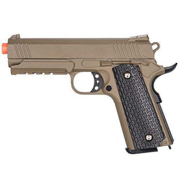 UKARMS Airsoft Pistol 1 UKARMS G25D 1:1 Scale Metal Spring Airsoft Gun - Tactical Pistol (Desert)