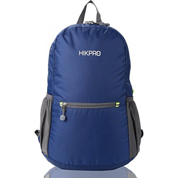 HIKPRO Tactical Backpack 1 HIKPRO 20L - The Most Durable Lightweight Packable Backpack, Water Resistant Travel Hiking Daypack for Men & Women