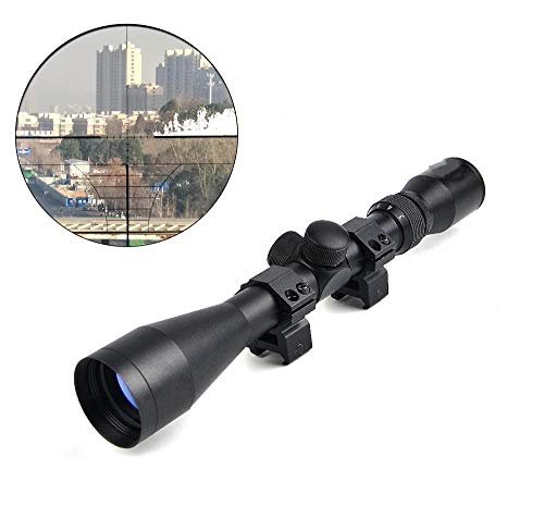 GOTICAL Rifle Scope 1 GOTICAL 3-9X40 Rifle Scope with One Pair 20mm Rail Mounts | Hunting scopes