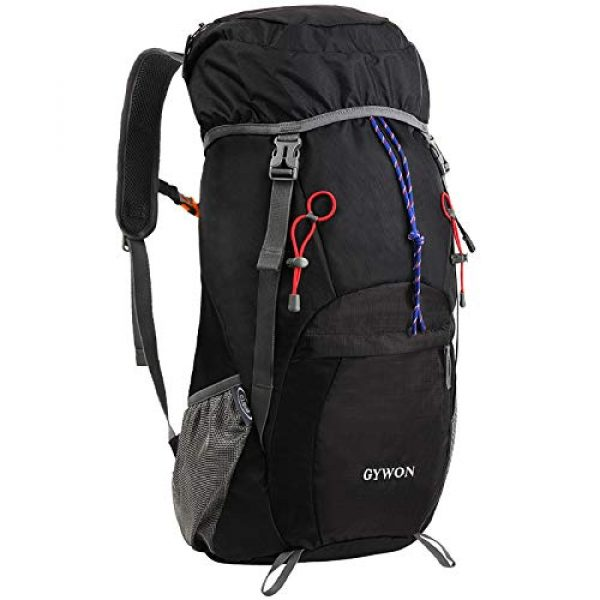 Gywon Tactical Backpack 1 Gywon Hiking-Daypacks-Travel-Backpack-Foldable-Carry-On Cabin Luggage Bag Water Resistant Lightweight 45L
