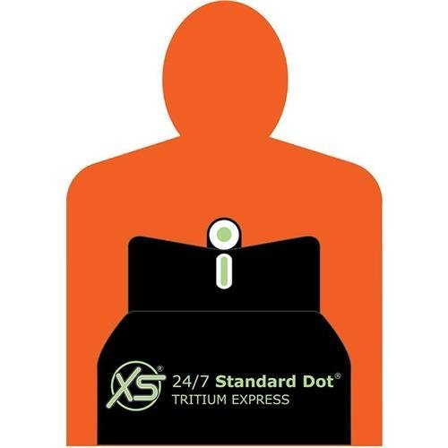 XS Sight Systems Handgun Sight 1 XS Sights Standard Dot Tritium 24/7 Express Set for Springfield Armory EMP Pistols