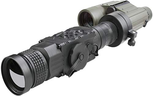 AGM Global Vision Rifle Scope 7 AGM 3093456006AN51 Model Anaconda TC50-384 Medium Range Thermal Imaging Clip-On System, 336x256 (60 Hz) Resolution, 50mm Lens, 1x Optical Magnification, Field of View 7.8°x5.9°