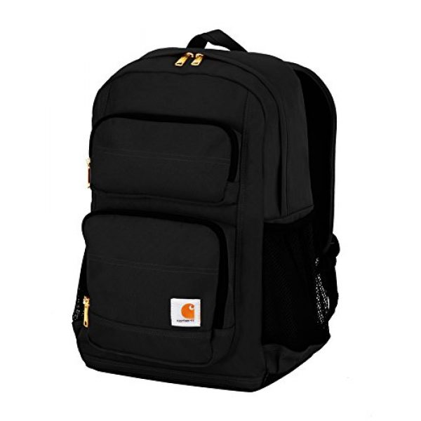 Carhartt Tactical Backpack 1 Carhartt Legacy Standard Work Backpack with Padded Laptop Sleeve and Tablet Storage, Black
