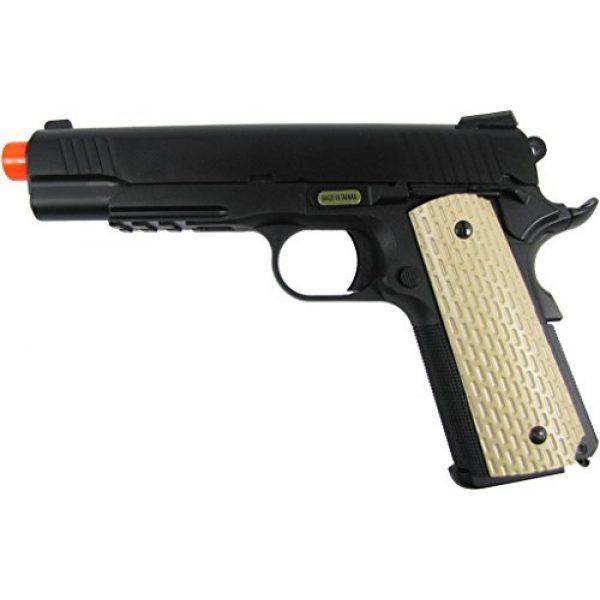 WE Airsoft Pistol 1 WE combat 191 gas blowback full metal - black(Airsoft Gun)