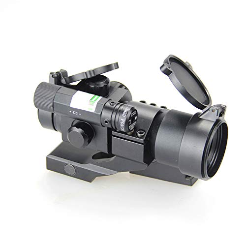 DJym Rifle Scope 2 DJym Blue Film Inside Red Dot Sight, High-Definition Red Dot Fast Sight Waterproofing Anti-Fog Seismic Gift-Level Sight