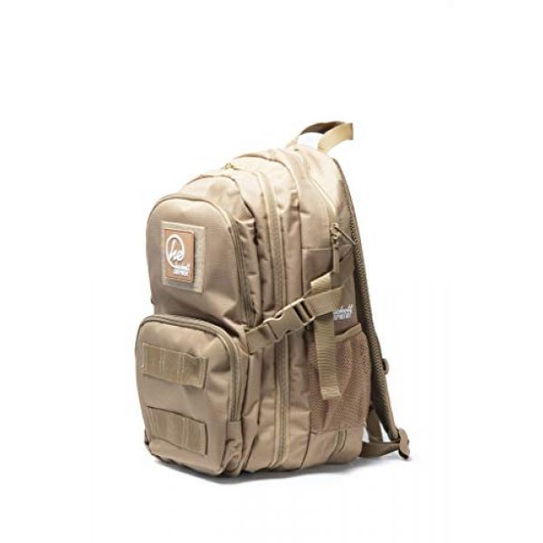 HACKETT EQUIPMENT Tactical Backpack 4 HACKETT EQUIPMENT Pistol Range Backpack - Tactical Backpack & Ammo Bag for Multiple Pistols