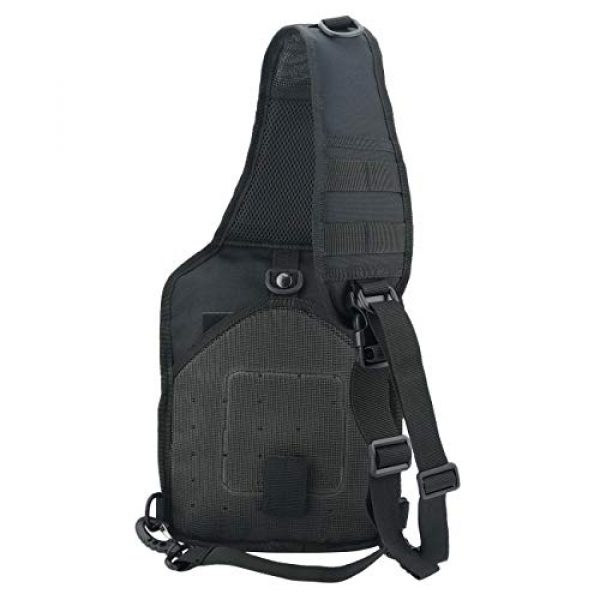 VooDoo Tactical Tactical Backpack 5 Tactical Sling Bag Military Rover Shoulder Sling Backpack Small EDC Molle Assault Crossbody Bags Pack
