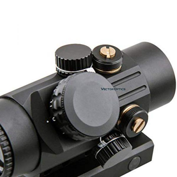 Vector Optics Rifle Scope 2 Vector Optics Calypos 1x30mm, Red Illuminated BDC Reticle, Second Focal Plane (SFP), 1/2 MOA Compact Tactical Prism Riflescope