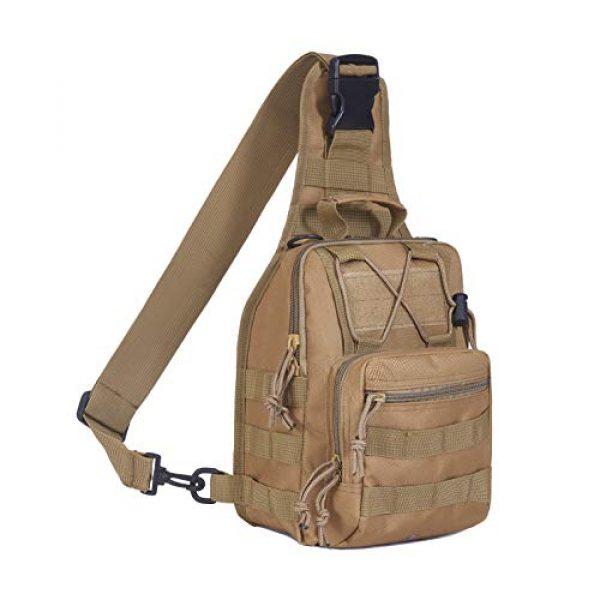 FAMI Tactical Backpack 1 FAMI Outdoor Tactical Bag Backpack, Military Sport Bag Pack Sling Shoulder Backpack Tactical Satchel for Every Day Carry