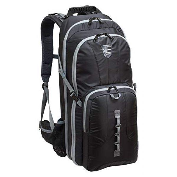 Elite Survival Systems Tactical Backpack 1 Elite Survival Systems ELS7725-B Stealth