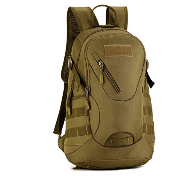 Huntvp Tactical Backpack 1 Huntvp Military MOLLE Backpack Rucksack Gear Tactical Assault Pack Student School Bag 20L for Hunting Camping Trekking Travel