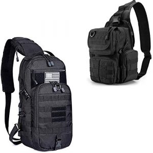 G4Free Tactical Backpack 1 G4Free Tactical Sling Backpack for Every Day Carry