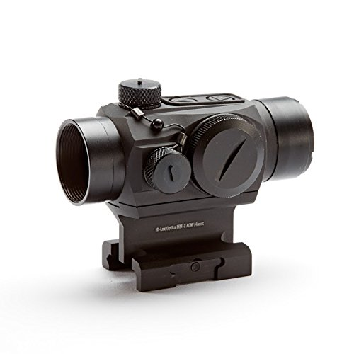 Hi-Lux Optics Rifle Scope 1 Hi-Lux Optics MM-2 Dot Sight Absolute Cowitness Mount, Red