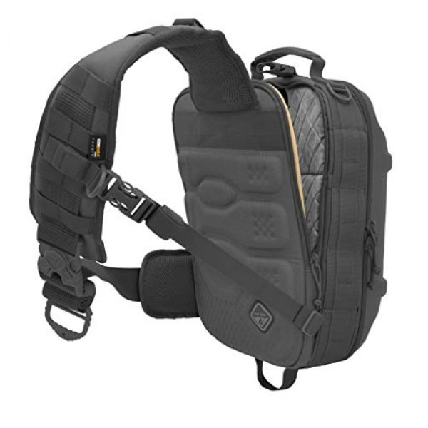 HAZARD 4 Tactical Backpack 2 Hazard 4 Hibachi: Light Shell Sling-Pack - Black