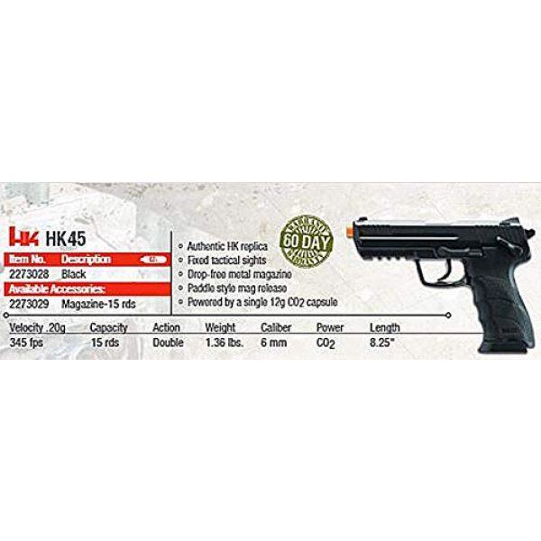 Elite Force Airsoft Pistol 5 HK Heckler & Koch HK45 CO2 Powered 6mm BB Pistol Airsoft Gun