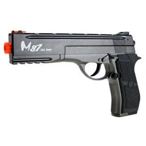 WG Airsoft Pistol 1 WG m84 long full metal co2 airsoft pistol - black/sliver(Airsoft Gun)
