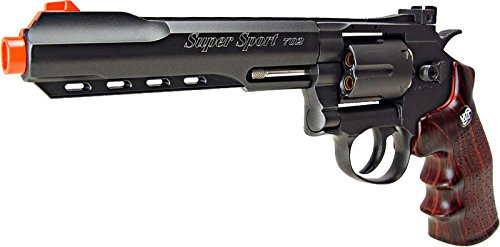 WG Airsoft Pistol 3 WG model-702b 6 revolver full metal co2 nbb included 6 revolver holster-nylon(Airsoft Gun)