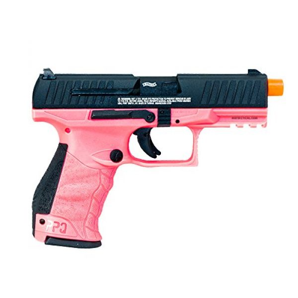 Walther Airsoft Pistol 1 Elite Force walther ppq gas blowback pistol (wildberry)(Airsoft Gun)