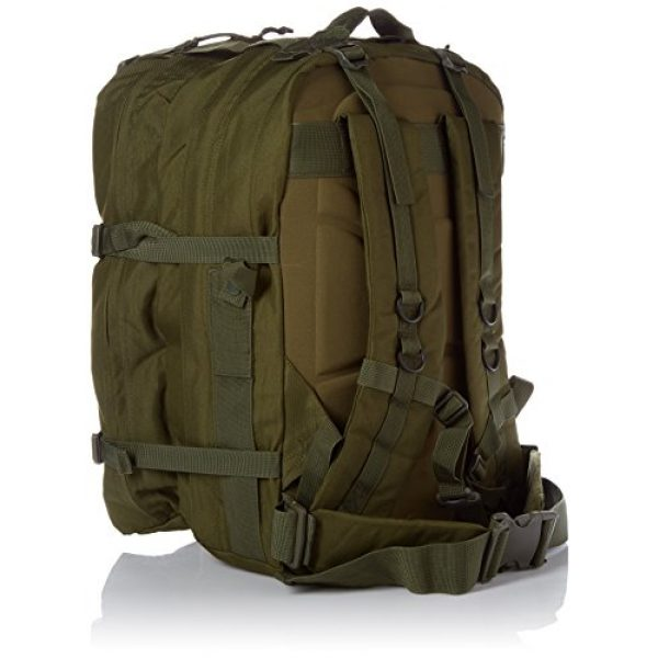 Stomp Medical Kit Tactical Backpack 2 Stomp Medical Kit Fully Stocked First Aid Backpack, OD Green