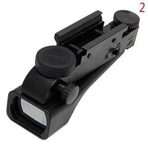 KTAIS Rifle Scope 1 KTAIS 10mm / 20mm Reflection Red Dot Line of Sight Length 42mm / 1.65in Red Dot Plastic Black Red Dot Sight Hunting Accessories (Color : 20mm)