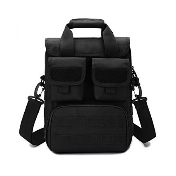 BraveHawk OUTDOORS Tactical Backpack 1 BraveHawk OUTDOORS Tactical Briefcase Messenger Bag, 800D Military Nylon Oxford Laptop Crossbody Shoulder Bag Handbag Daypack