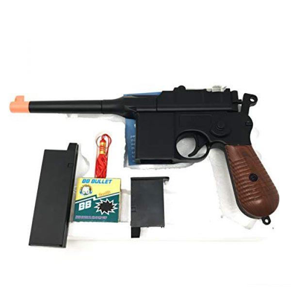 M32 Airsoft Pistol 3 WW2 New Airsoft Toy Gun German Mauser c69 Broomhandle with 2 Magazines Steampunk DIY