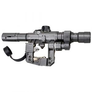 Vector Optics Rifle Scope 1 Vector Optics SVD Dragunov 3-9x24mm First Focal Plane (FFP) Tactical Riflescope with Red Illuminated Rangefinding Reticle